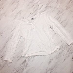 William Rast Lace Shirt